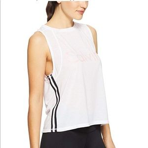 New Calvin Klein Performance DropArmhole Crop Tank